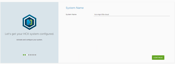 system name